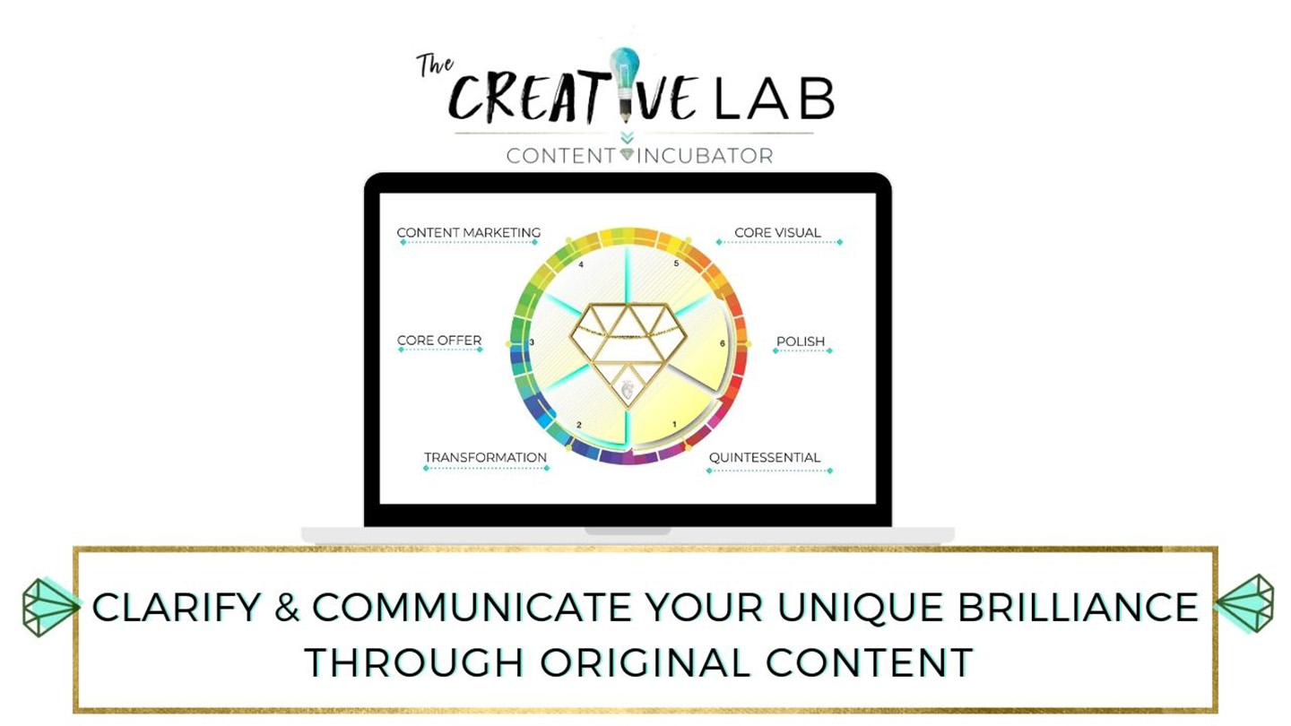 Creative Lab - content incubator - 6 week group coaching program