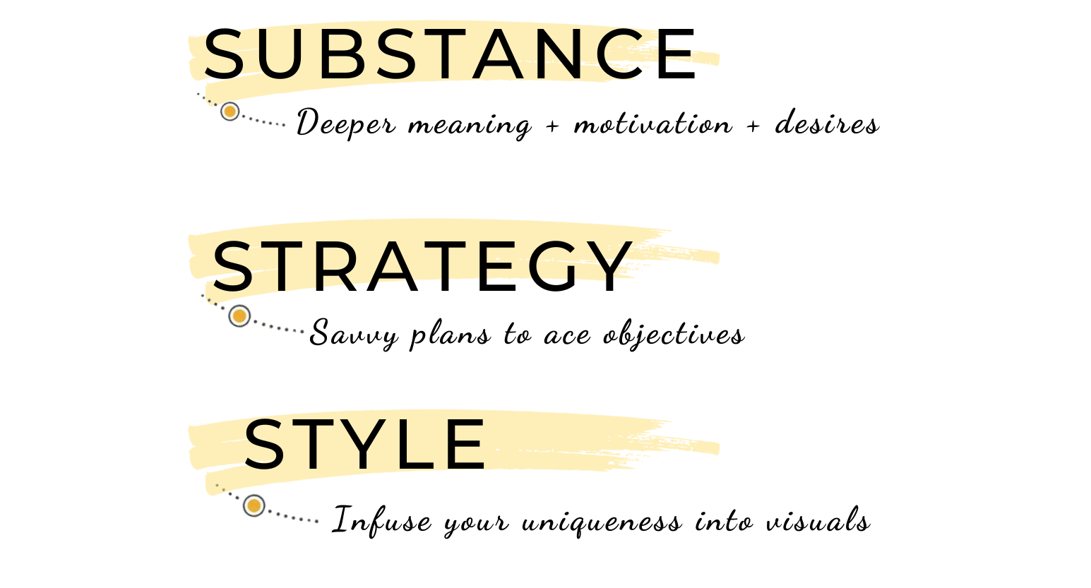 my VIP days cover Substance, Strategy & Style