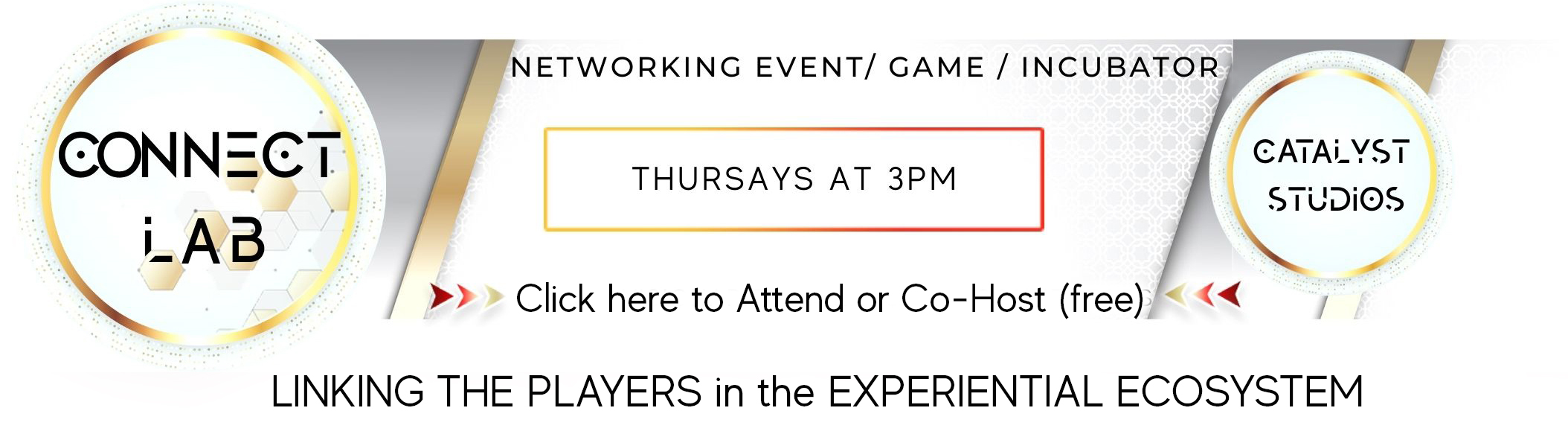 Connect Lab networking roundtable virtual event for experiential professionals