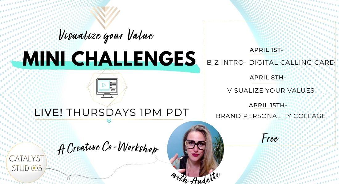 Visualize your Value Co-Workshops with Audette Catalyst Studios