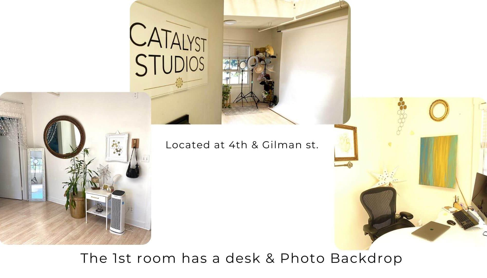 Catalyst Studios photo studio & office space in Berkeley