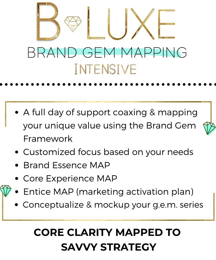 B Luxe Brand Gem VIP day